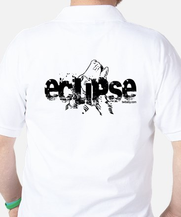 Eclipse Howling Wolf by Twibaby Golf Shirt