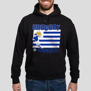 Uruguayan soccer Hoodie (dark)