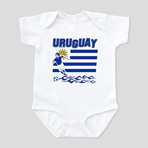 Uruguayan soccer Infant Bodysuit
