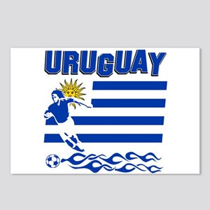 Uruguayan soccer Postcards (Package of 8)