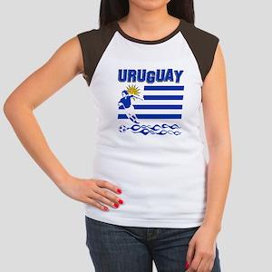 Uruguayan soccer Women's Cap Sleeve T-Shirt