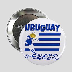 "Uruguayan soccer 2.25"" Button"