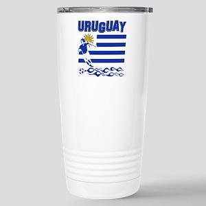 Uruguayan soccer Stainless Steel Travel Mug