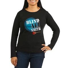Blind Ali Women's Long Sleeve Dark T-Shirt