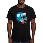 Blind Ali Men's Fitted T-Shirt (dark)