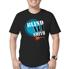 Blind Ali Men's Fitted T-Shirt (dark)