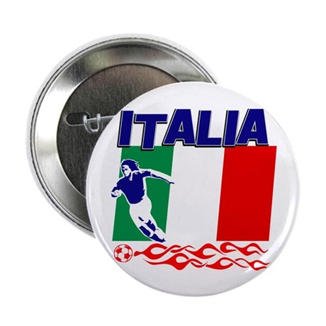 "Italian soccer 2.25"" Button (100 pack)"