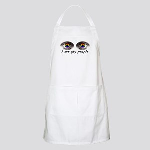 i see gay people Apron