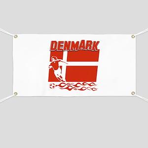 Danish soccer Banner
