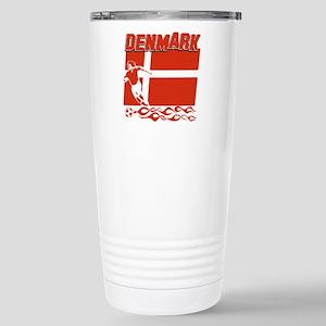 Danish soccer Stainless Steel Travel Mug