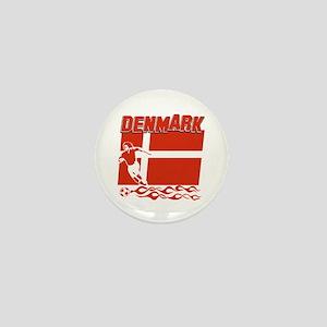 Danish soccer Mini Button