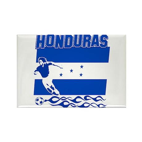 Honduran soccer Rectangle Magnet