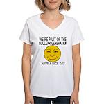 Nuclear Generation Women's V-Neck T-Shirt