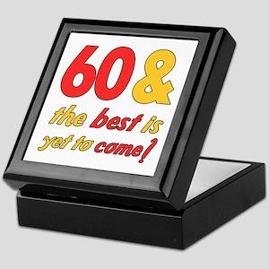 60th Birthday Best Yet To Come Keepsake Box