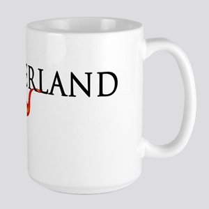 Switzerland Soccer Large Mug