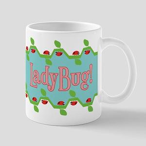 Ladybug vine Mug