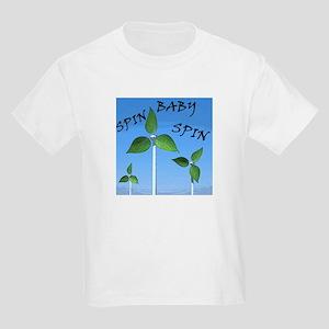 Spin Baby Spin Kids Light T-Shirt