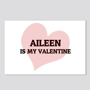 Aileen Is My Valentine Postcards (Package of 8)