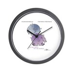 HE AINT HEAVY by April McCallum Wall Clock