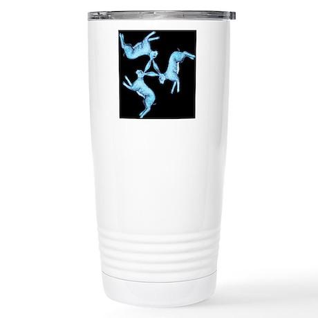 Lunar Hares Stainless Steel Travel Mug
