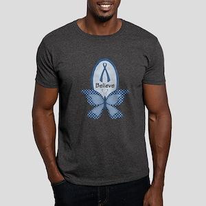 Believe- Blue Awareness Dark T-Shirt