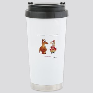 LET'S DO LUNCH by April McCallum Travel Mug