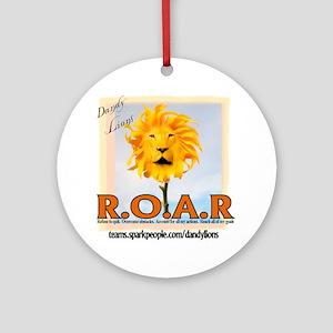 ROAR Dandy Lions Ornament (Round)