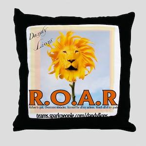 ROAR Dandy Lions Throw Pillow