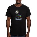 Men's Fitted T-Shirt (dark) Soccer + Vuvuzelas = A