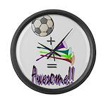 Large Wall Clock Soccer + Vuvuzelas = Awesome