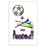 Large Poster Soccer + Vuvuzelas = Awesome
