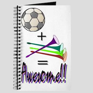 Journal Soccer + Vuvuzelas = Awesome