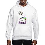 Hooded Sweatshirt Soccer + Vuvuzelas = Awesome