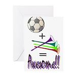 Greeting Card Soccer + Vuvuzelas = Awesome