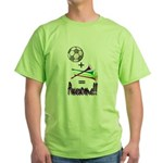 Green T-Shirt Soccer + Vuvuzelas = Awesome