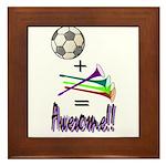 Framed Tile Soccer + Vuvuzelas = Awesome