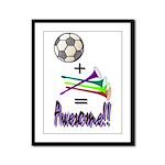 Framed Panel Print Soccer + Vuvuzelas = Awesome