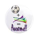 """3.5"""" Button (100 pack) Soccer + Vuvuzelas = A"""