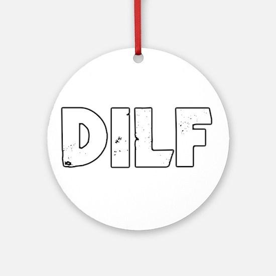 DILF Ornament (Round)