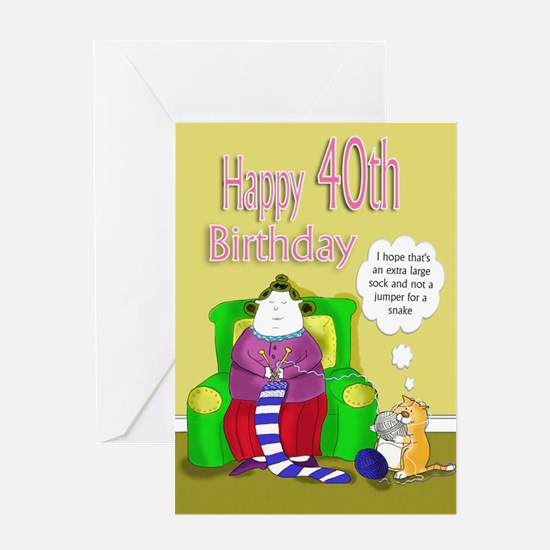 forty birthday humour