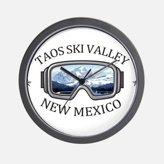 Taos Ski Valley - Taos - New Mexico Wall Clock