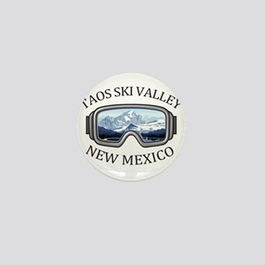 Taos Ski Valley - Taos - New Mexico Mini Button