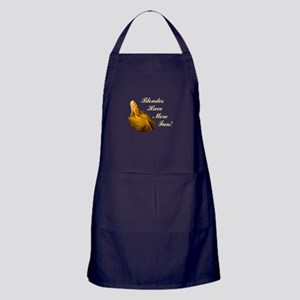 Blonde Pin-Up Apron (dark)