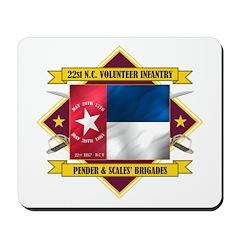 22nd NC Volunteer Infantry Mousepad