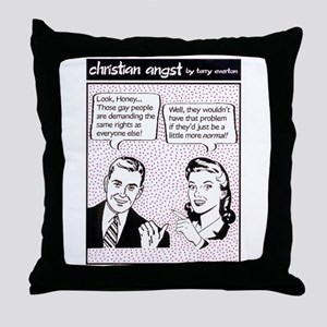 Gay Rights Throw Pillow