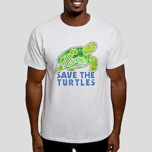 Save the Turtles Light T-Shirt