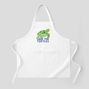 Save the Turtles Apron