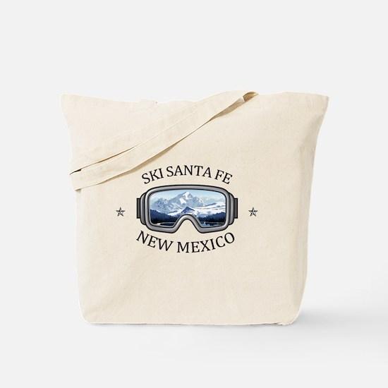 Ski Santa Fe - Santa Fe - New Mexico Tote Bag