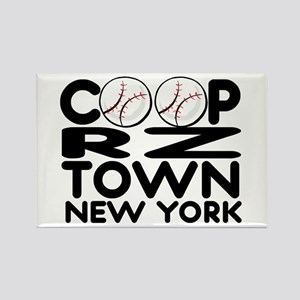 CoopRZtown, NY Rectangle Magnet