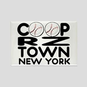 CoopRZtown, NY Rectangle Magnet